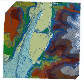 Estudio de inundabilidad en el río francolí