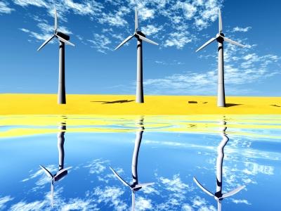 energía eléctrica a partir del aire y el agua