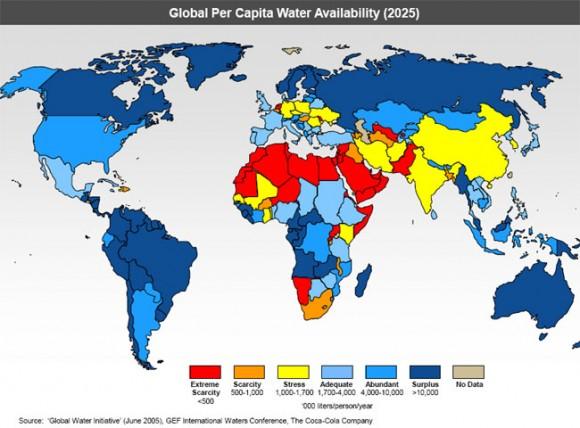 crisis del agua en india