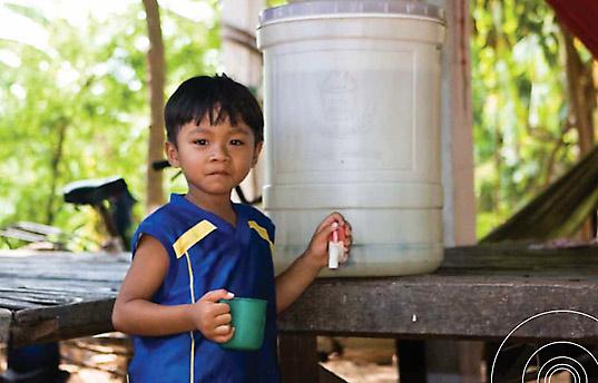 Depurar agua con filtros de cerámica