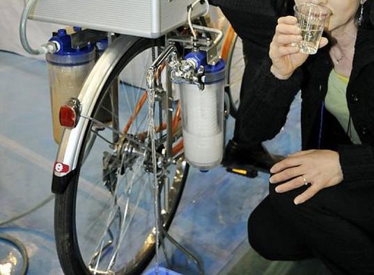 Cycloclean La Bici Que Limpia El Agua: 6 Métodos Curiosos Para Depurar Agua