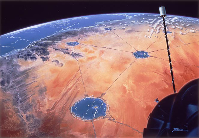Convertir desiertos en oasis habitables