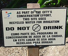 apuesta por la reutilización del agua