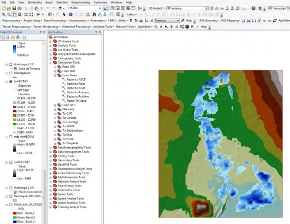 obtener límites de inundación en HEC-RAS 2