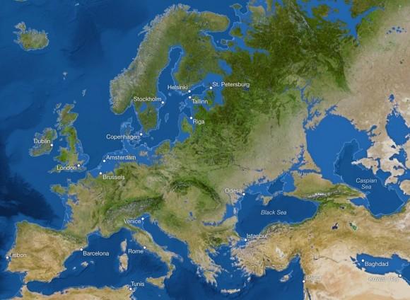 si todo el hielo se fundiera_Europa