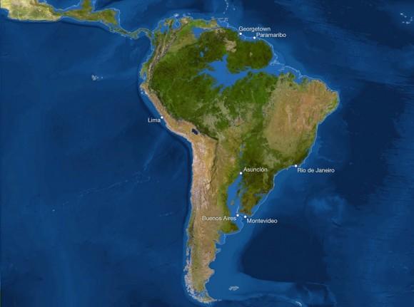 si todo el hielo se fundiera_Sudamérica