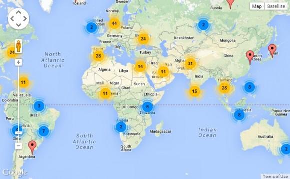 Día Mundial del Agua_Mapa