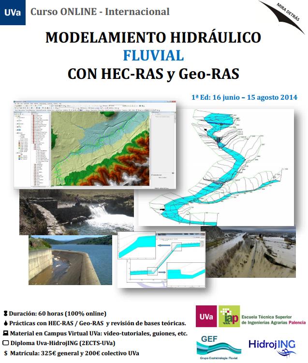Folleto Curso Online HEC-RAS HEC-GeoRAS