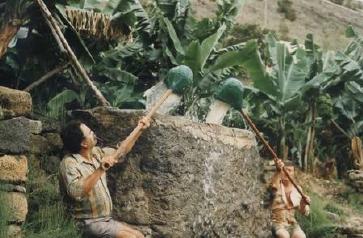 """Calabaceros en La Palma (""""Hidrología y recursos hídricos en islas y terrenos volcánicos; Juan Carlos Santamarta)"""