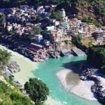 Confluencia de rios_Alaknanda y Bhagirathi