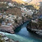 Confluencia de rios_Alaknanda y Bhagirathi2