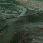 Confluencia de rios_Drava y Danubio