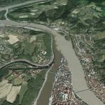 Confluencia de rios_Ilz y Danubio y Eno