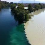 Confluencia de rios_Rodano y Arve2