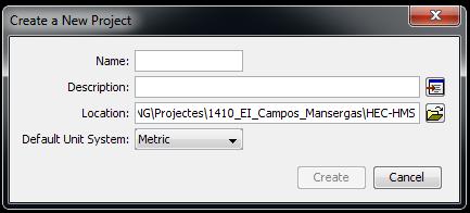 introducir hietogramas en HEC-HMS_ruta
