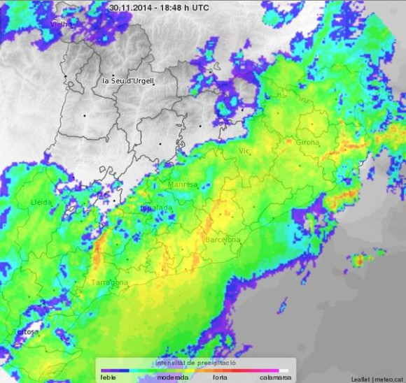 episodio extraordinario de precipitacion_radar