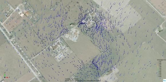 estudio de inundabilidad_velocidades detalle