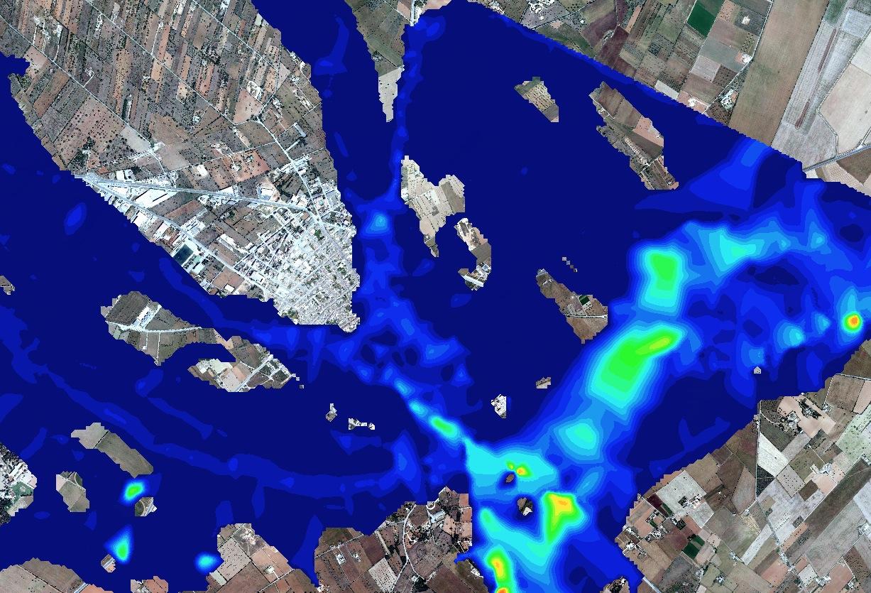 Estudio de inundabilidad en zona urbana en Baleares