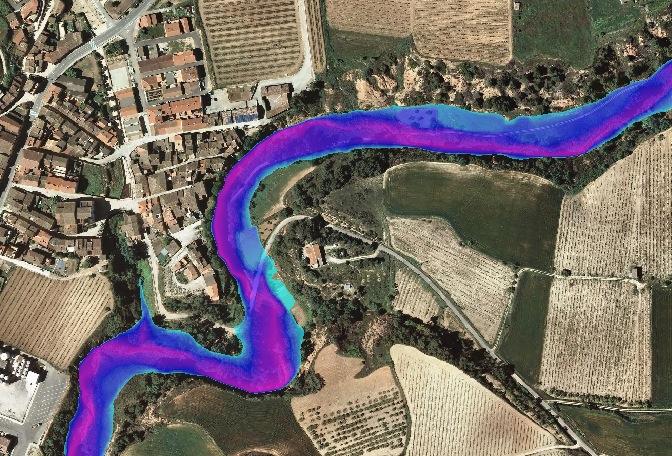Estudio hidráulico de viaductos para variante de carretera