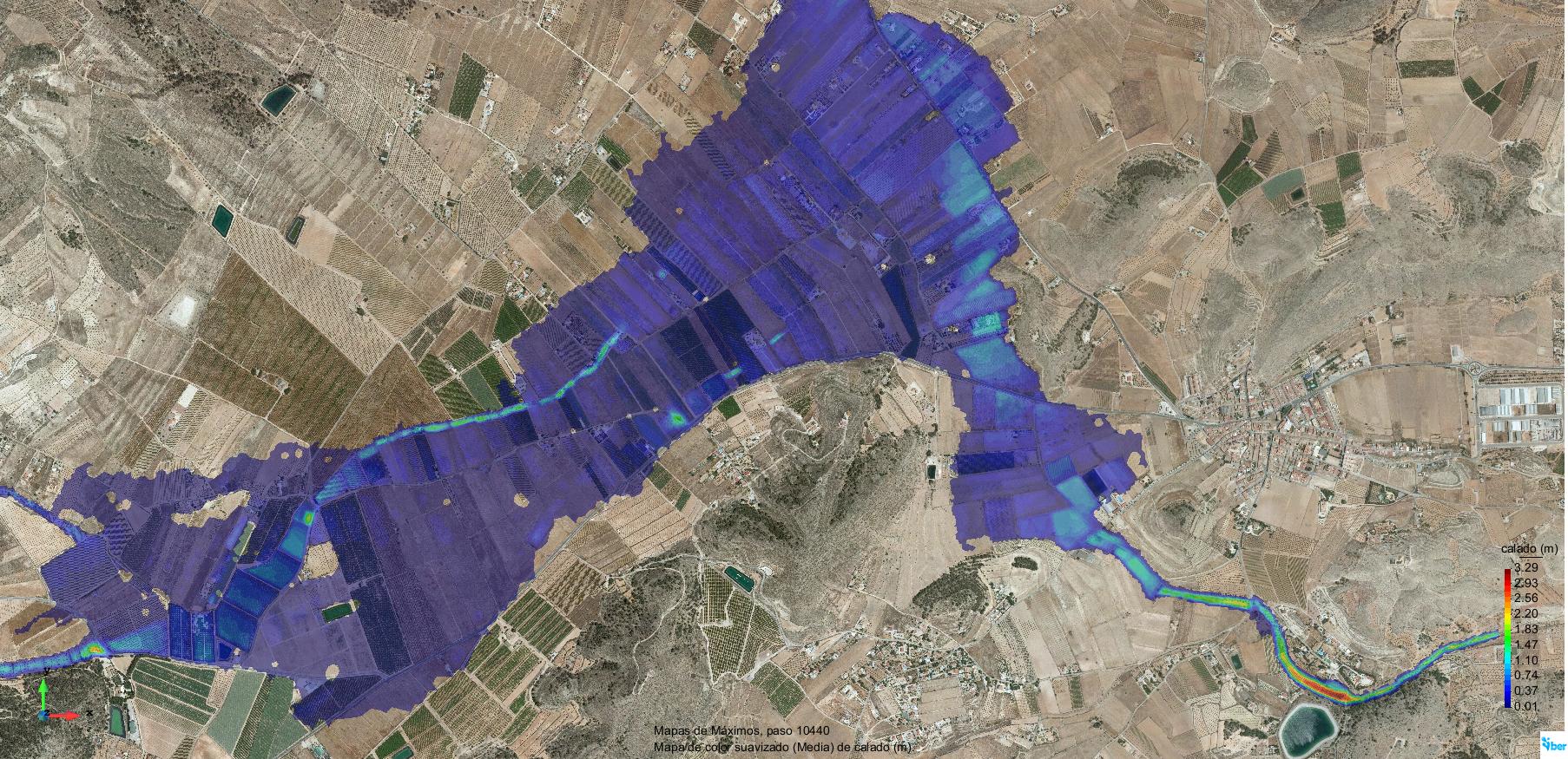 Modelizacion hidraulica torrente Alicante