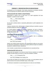 Descarga guion imprimible de la Unidad 5