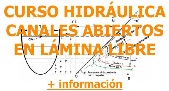 Curso Hidráulica Canales Abiertos en Lámina Libre