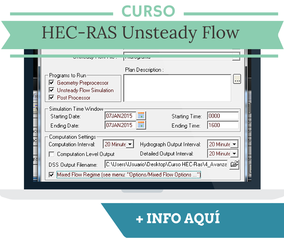 Curso HEC-RAS Unsteady