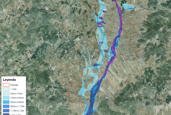 Estudio Inundabilidad Campamento Turistico Castellon