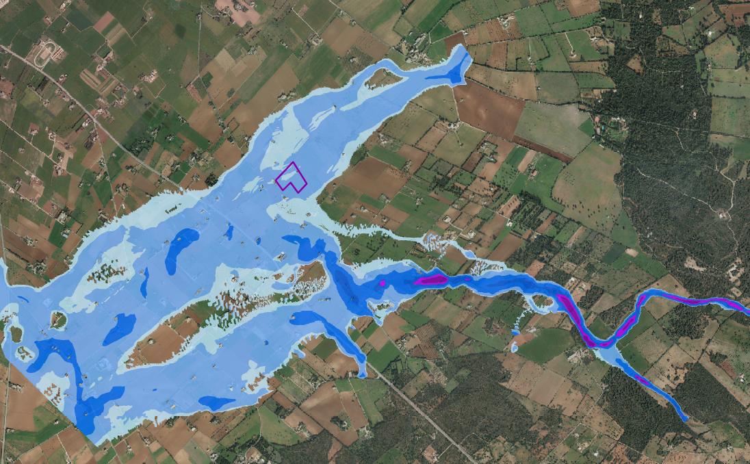 Estudio Inundabilidad Vivienda Unifamiliar Aislada